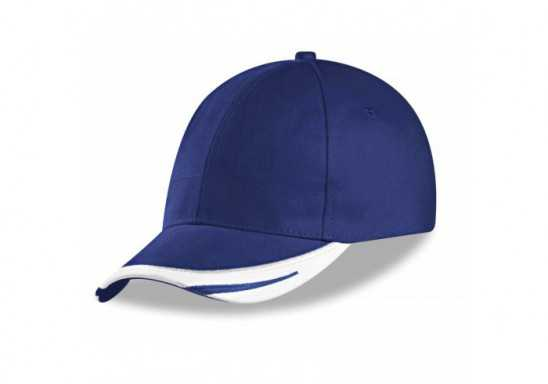 Us Basic Bronx 6 Panel Cap - Blue