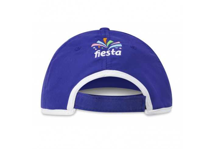 US Basic New Jersey 6 Panel Cap - Blue