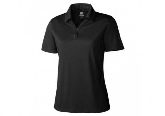 Cutter And Buck Genre Ladies Golf Shirt - Black