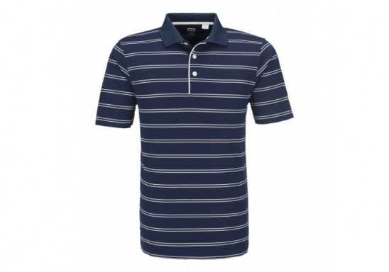 Cutter And Buck Hawthorne Mens Golf Shirt - Black