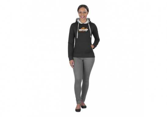 US Basic Ladies Solo Hooded Sweater