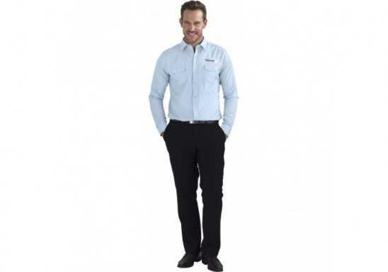 US Basic Bayport Mens Long Sleeve Shirt