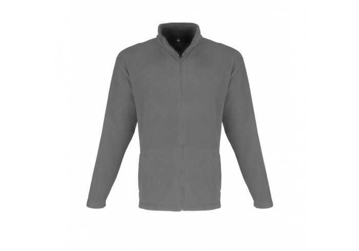 US Basic Mens Yukon Micro Fleece Jacket - Blue