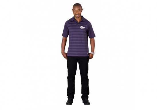 Elevate Shimmer Mens Golf Shirt
