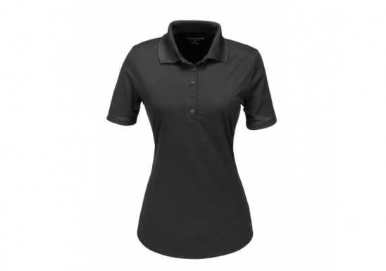 Ladies Edge Golf Shirt - Black