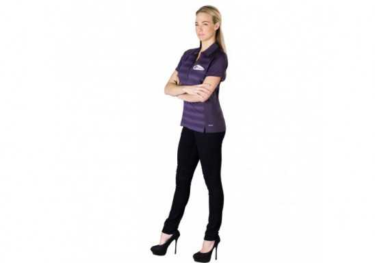 Elevate Shimmer Ladies Golf Shirt