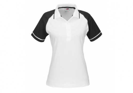 US Basic Ladies Sydney Golf Shirt - Black