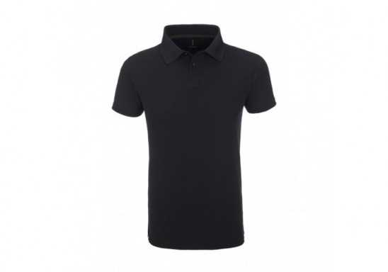 Elevate Calgary Mens Golf Shirt - Black