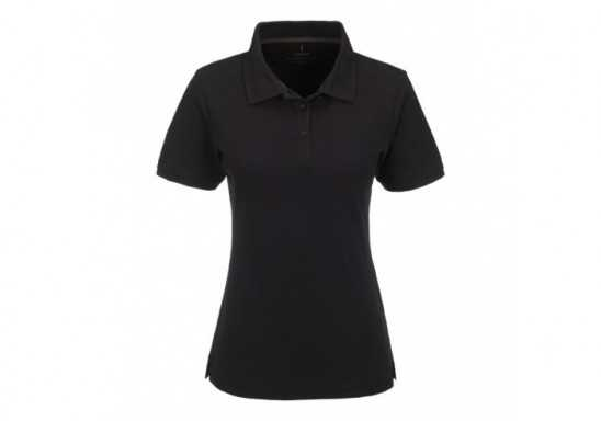 Elevate Calgary Ladies Golf Shirt - Black