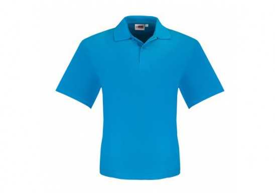 US Basic Mens Elemental Golf Shirt - Aqua
