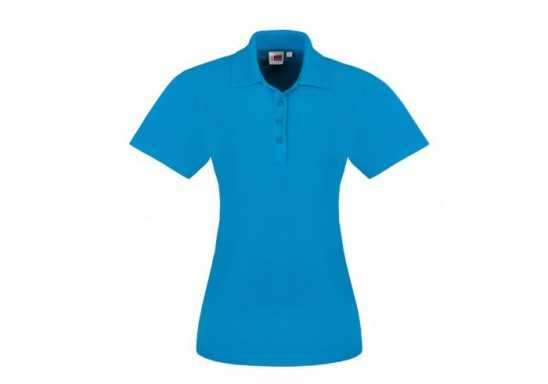 US Basic Ladies Elemental Golf Shirt - Aqua