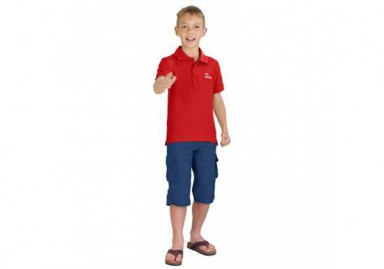 US Basic Kids Elemental Golf Shirt