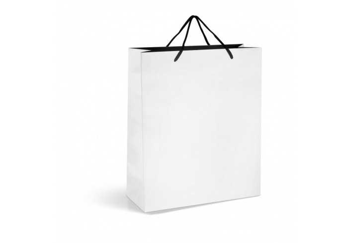Glamour Maxi A3 Gift Bag - Silver