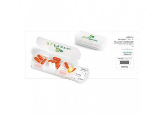 Paramed Pill & Plaster Dispenser