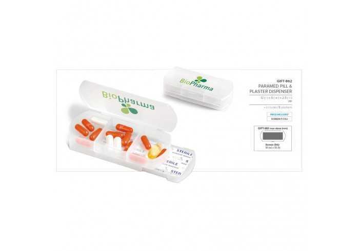 Paramed Pill & Plaster Dispenser