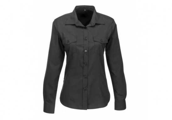 US Basic Ladies Long Sleeve Kensington Shirt