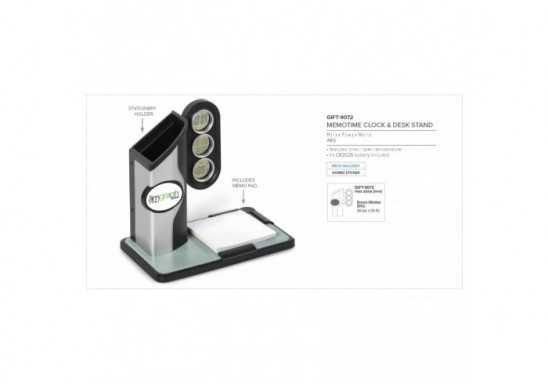 Memotime Clock & Desk Stand