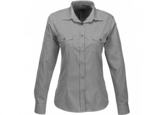 US Basic Ladies Long Sleeve Kensington Shirt