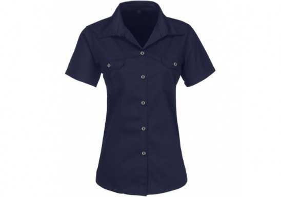 US Basic Ladies Short Sleeve Wildstone Shirt
