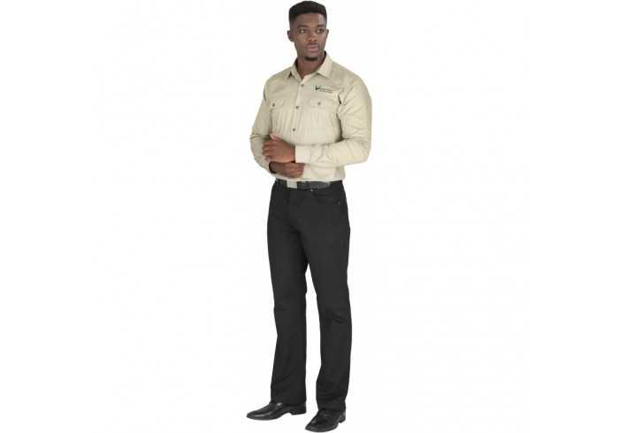 US Basic Mens Long Sleeve Wildstone Shirt