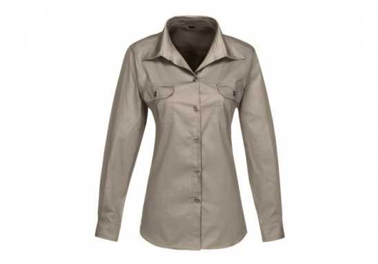 US Basic Ladies Long Sleeve Wildstone Shirt