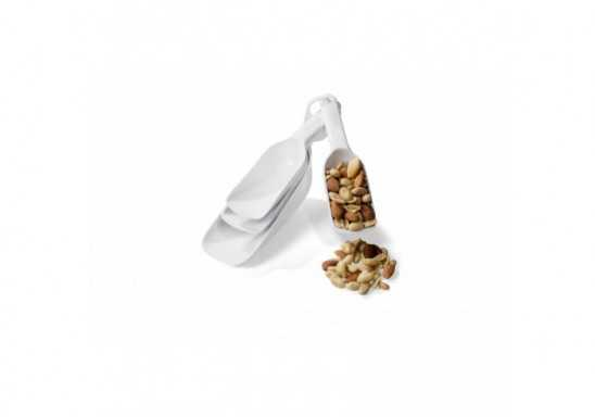 Bakemaster Measuring Scoops - White Only