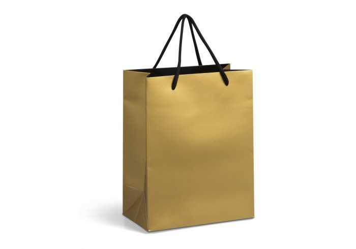 Glitz Small A5 Gift Bag - Black