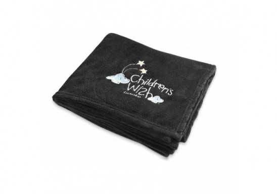 Cocoon Fleece Blanket And Bag - Black