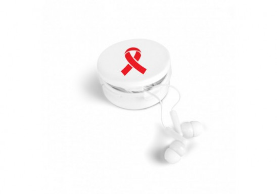 World Aids Day Earphones With Condom