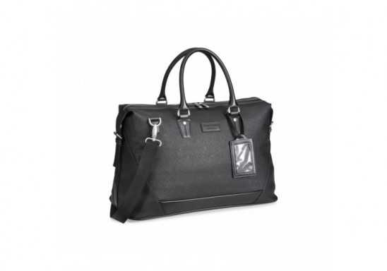 Gary Player Simulated Leather Weekend Bag - Black