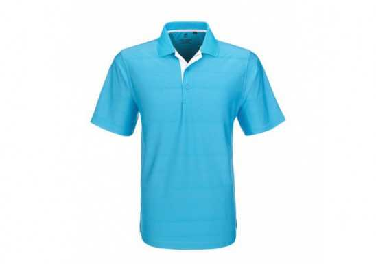 Gary Player Mens Admiral Golf Shirt -Aqua