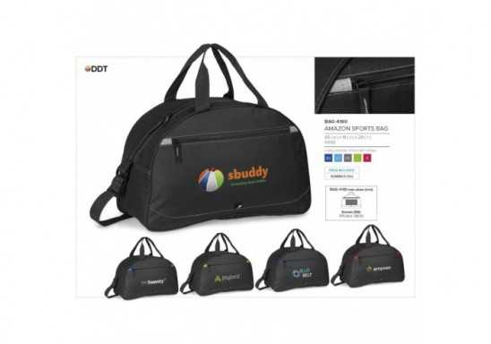 Amazon Sports Bag - Grey