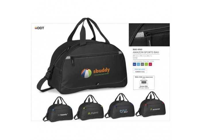 Amazon Sports Bag - Grey