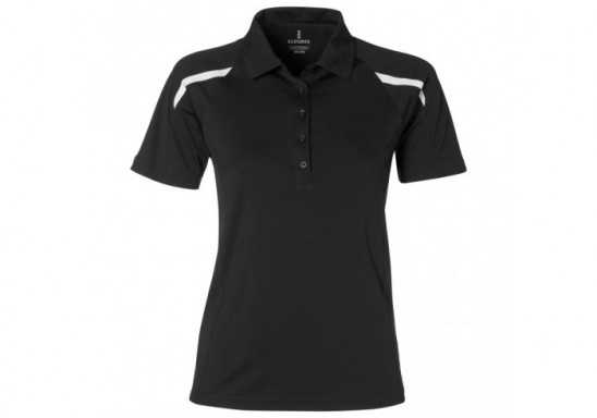 Elevate Nyos Ladies Golf Shirt - Black
