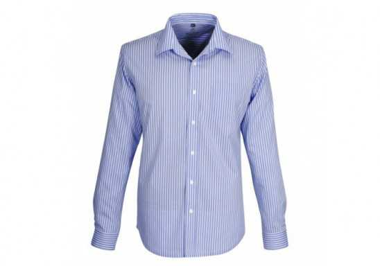 Mens Long Sleeve Glenarbor Shirt - Blue