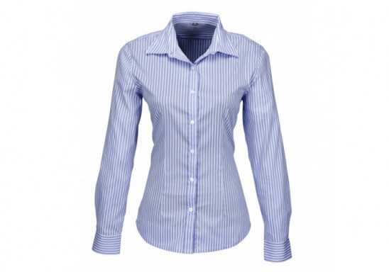 Ladies Long Sleeve Glenarbor Shirt - Blue