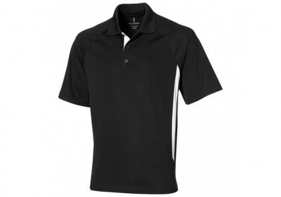 Elevate Mitica Mens Golf Shirt - Black