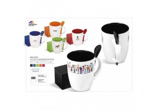 Scoop Sublimation Mug - 325Ml