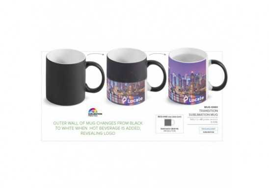 Transition Colour-Changing Mug - 325Ml