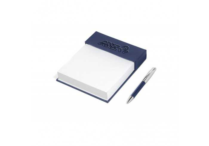 Renaissance Notepad & Pen Gift Set - Black