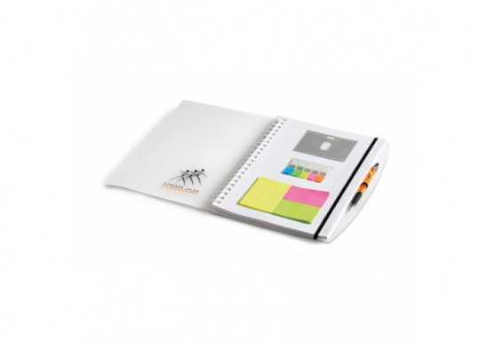 Herald A4 Notebook - White