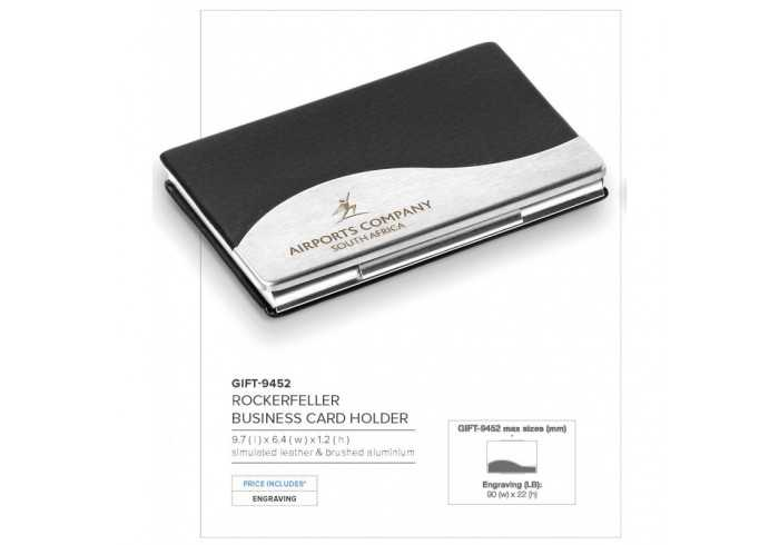 Rockerfeller Business Card Holder