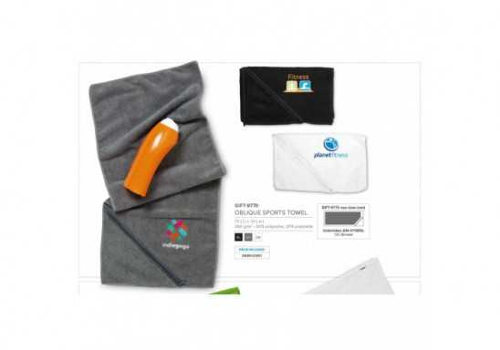 Oblique Sports Towel