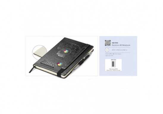 Excelsior A5 Notebook - Black