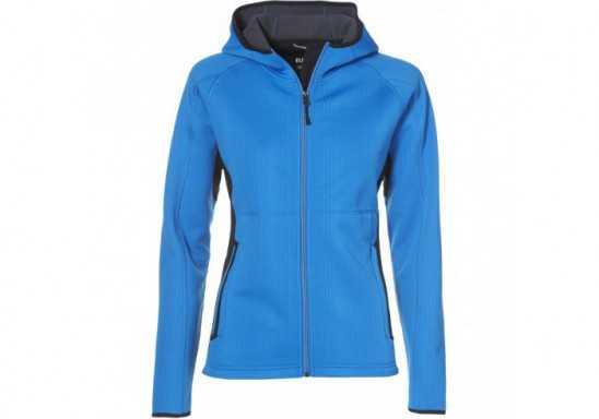 Elevate Ferno Ladies Bonded Knit Jacket - Black