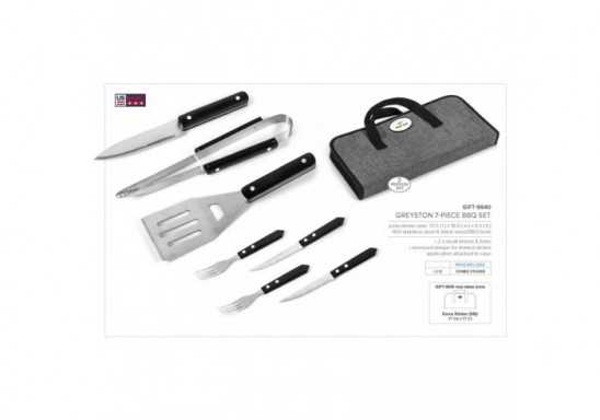 Greyston 7-Piece BBQ Set