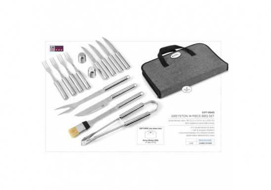 Greyston 14-Piece BBQ Set