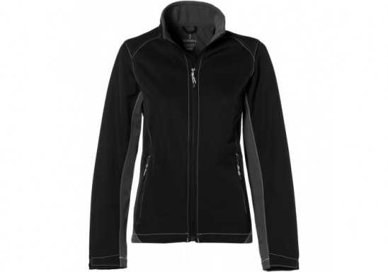 Elevate Iberico Ladies Softshell Jacket - Black
