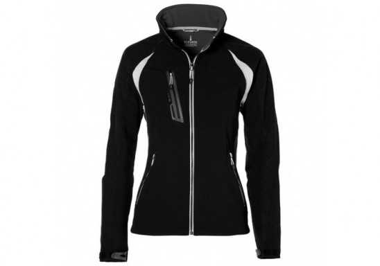 Elevate Katavi Ladies Softshell Jacket - Black