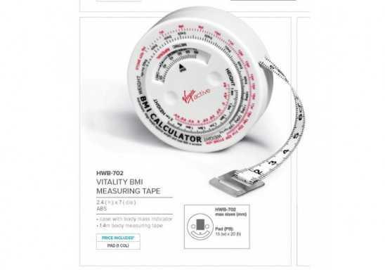 Vitality Bmi Measuring Tape